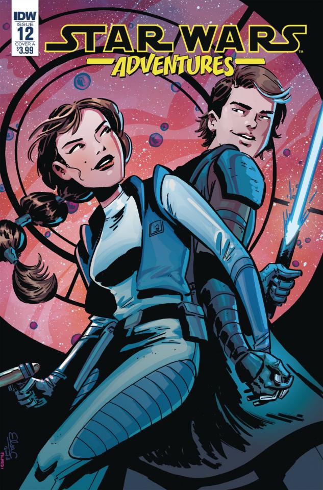 Star Wars Adventures #12 (Charretier Cover)