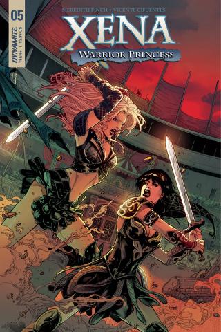 Xena #5 (Cifuentes Cover)
