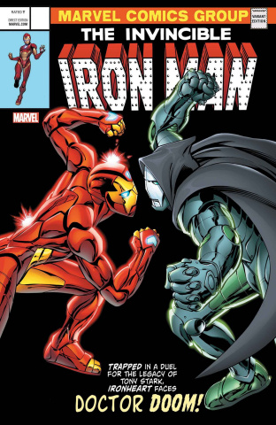 Invincible Iron Man #593 (Davis Cover)
