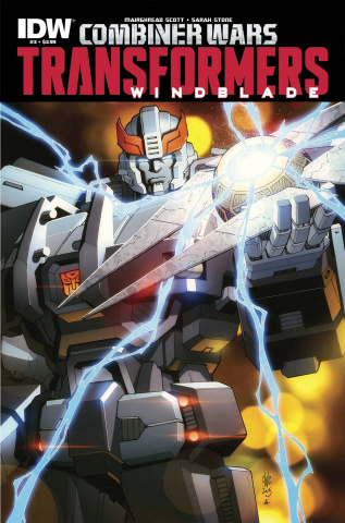 The Transformers: Windblade - Combiner Wars #3