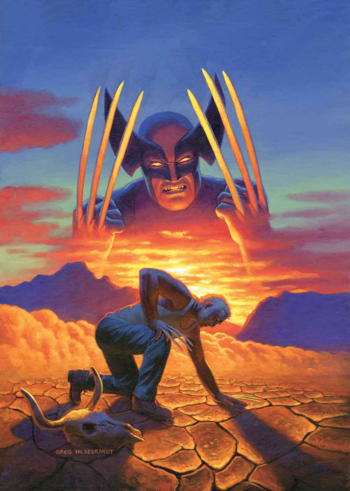 Dead Man Logan #1 (Hildebrandt Cover)