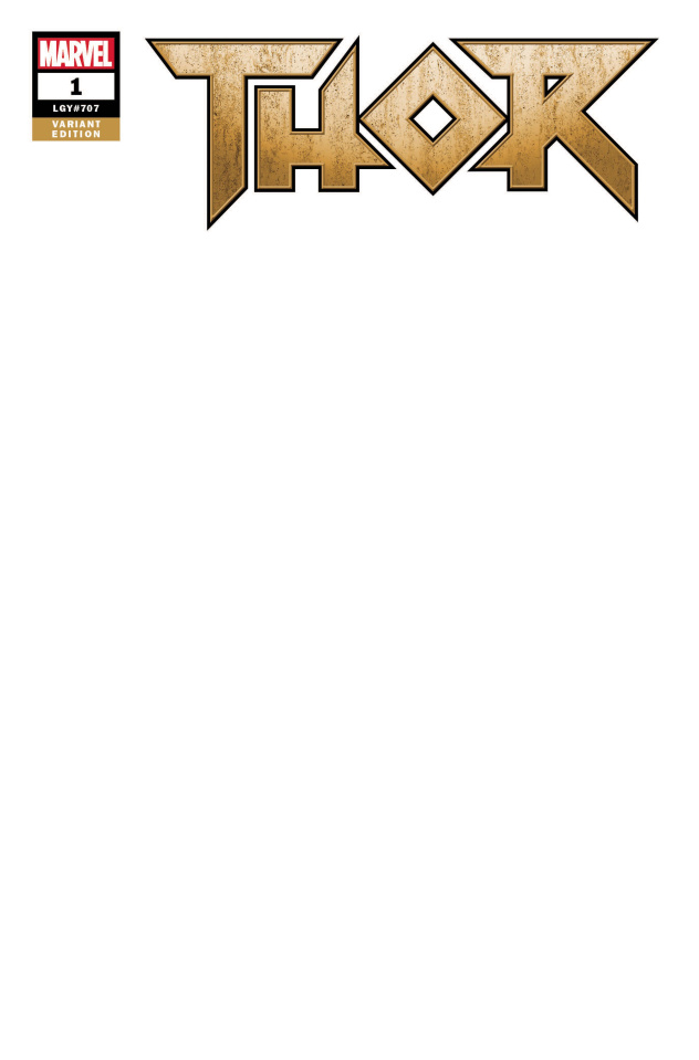 Thor #1 (Blank Cover)
