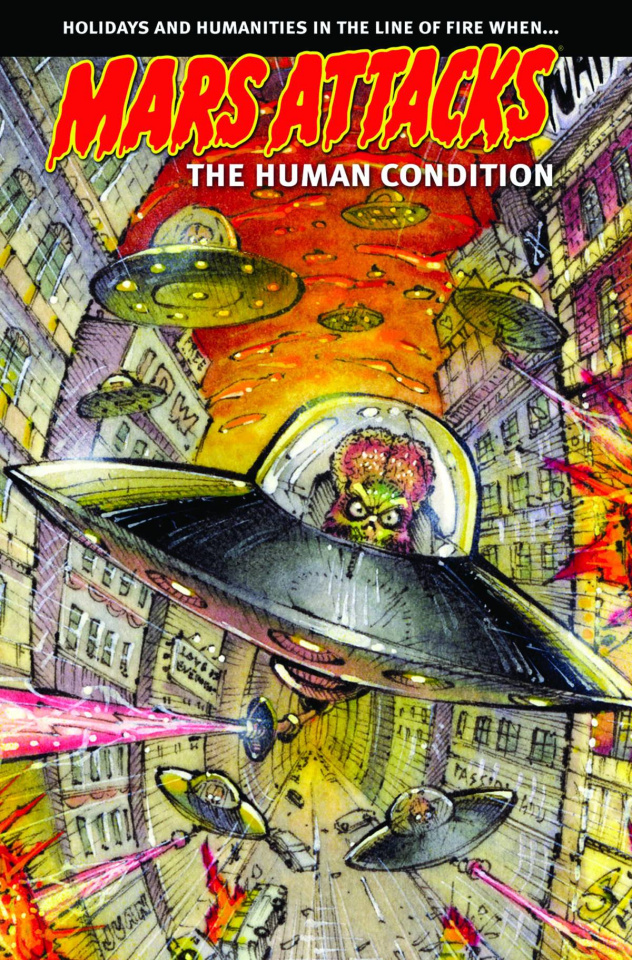 Mars Attacks The Human Condition