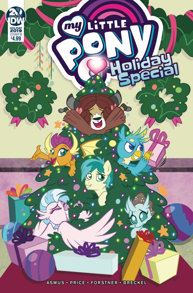 My Little Pony Holiday Special (Forstner Cover)