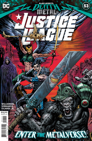 Justice League #53 (Liam Sharp Cover)