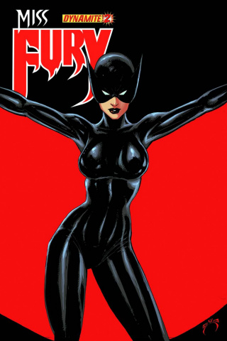 Miss Fury #2 (Benitez Cover)