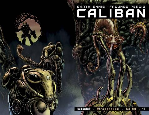Caliban #5 (Wrap Cover)