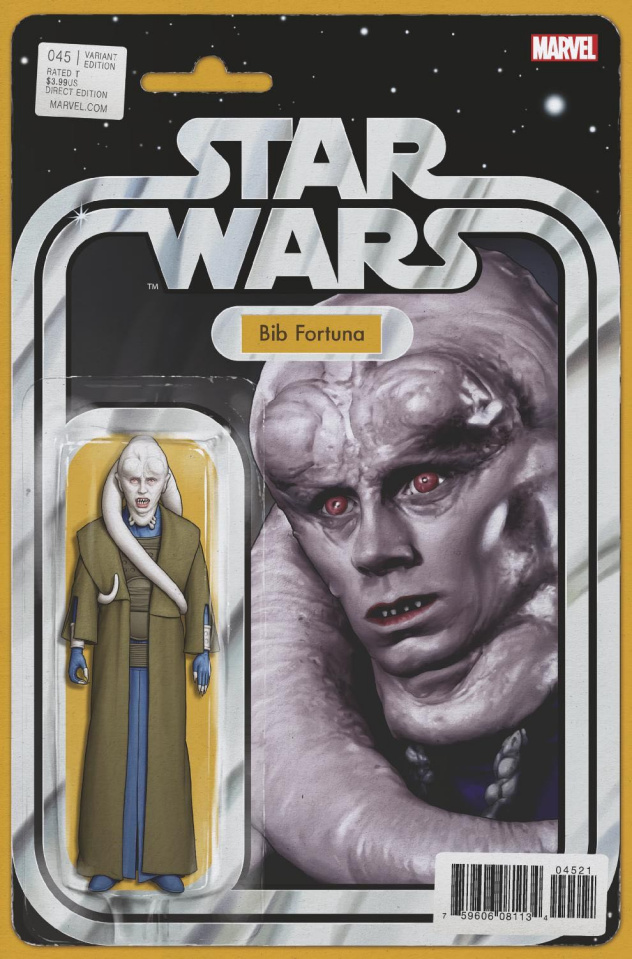Star Wars #45 (Christopher Action Figure Cover)