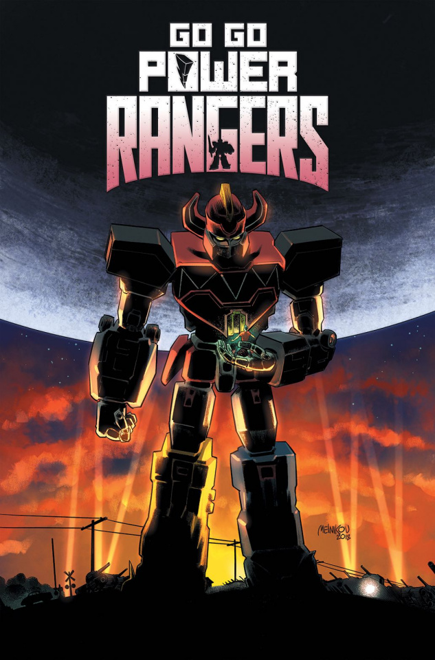 Go, Go, Power Rangers! #20 (25 Copy Melnikov Cover)