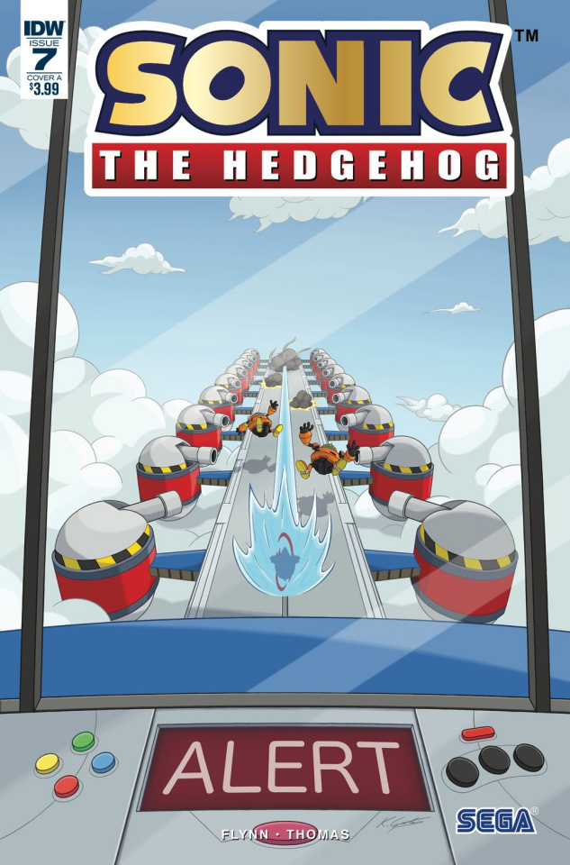 Sonic the Hedgehog #7 (Gates Cover)
