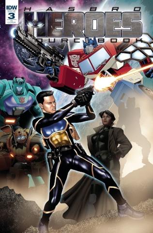 Hasbro Heroes Sourcebook #3 (Ossio Cover)