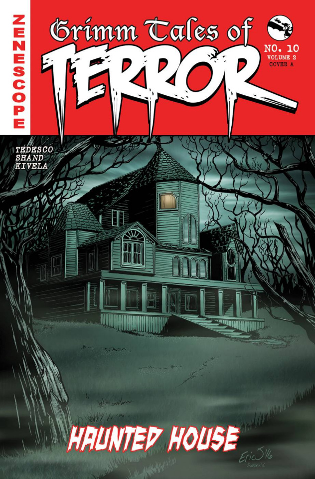 Grimm Fairy Tales: Grimm Tales of Terror #10 (Eric J Cover)