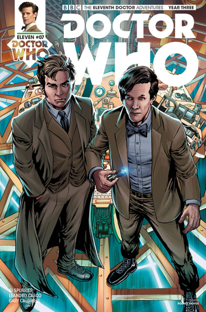 Doctor Who: New Adventures with the Eleventh Doctor, Year Three #7 (Ramos Cover)