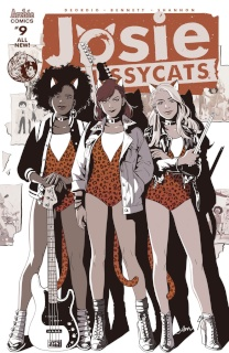 Josie and The Pussycats #9 (Audrey Mok Cover)