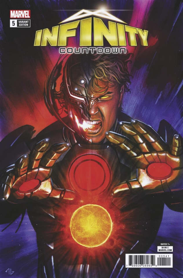 Infinity Countdown #5 (Ultron Holds Infinity Cover)