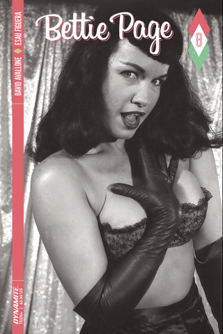 Bettie Page #8 (Photo Cover)