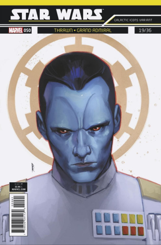 Star Wars #50 (Reis Galactic Icon Cover)