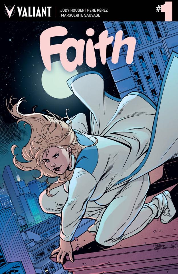 Faith #1 (Lupacchino Cover)