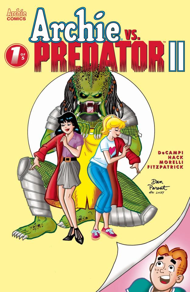 Archie vs. Predator II #1 (Dan Parent Cover)