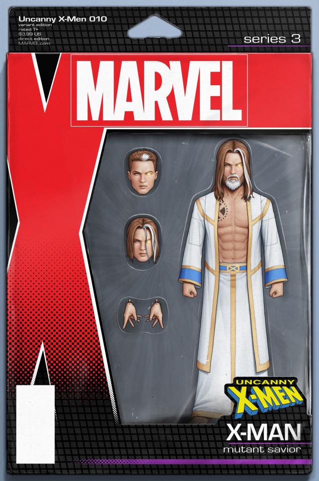 Uncanny X-Men #10 (Christopher Action Figure Cover)