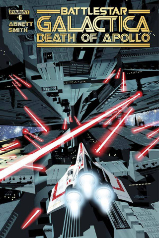 Battlestar Galactica: Death of Apollo #6 (Mayhew Main Cover)