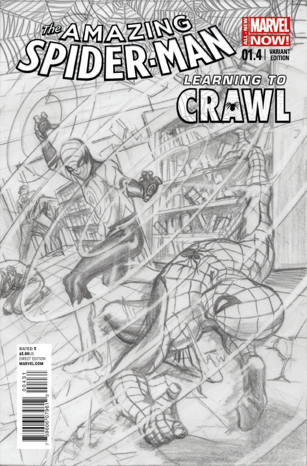 The Amazing Spider-Man #1.4 (Ross Sketch Cover)