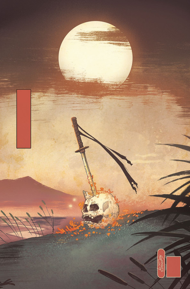 Ronin Island #6 (Milonogiannis Cover)