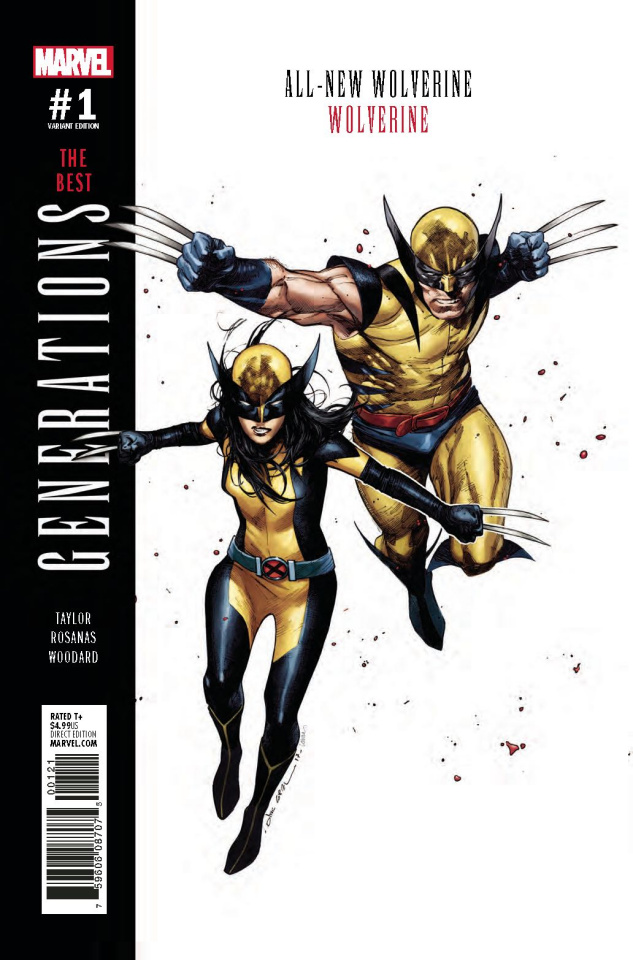 Generations: Wolverine & All-New Wolverine #1 (Coipel Cover)