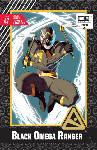 Mighty Morphin Power Rangers #47 (20 Copy Anka Cover)