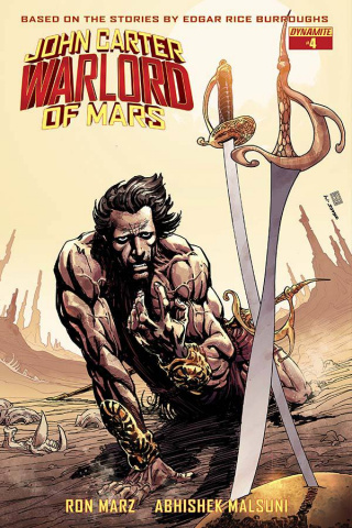 John Carter: Warlord of Mars #4 (Sears Cover)