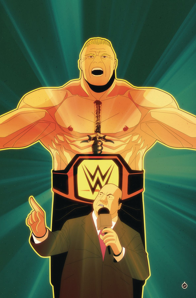 WWE Royal Rumble 2018 Special #1 (10 Copy Juan Doe Cover)
