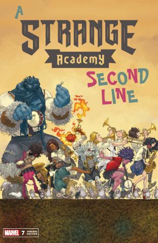 Strange Academy #7 (Alphona Cover)