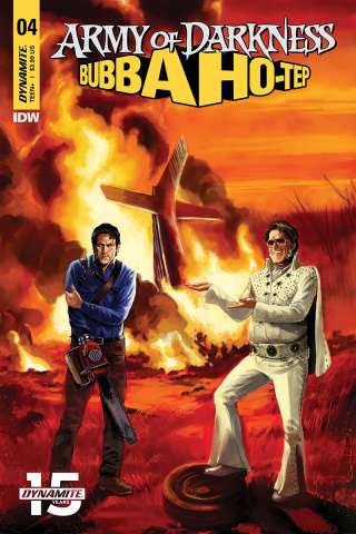 Army of Darkness / Bubba Ho-Tep #4 (Galindo Cover)