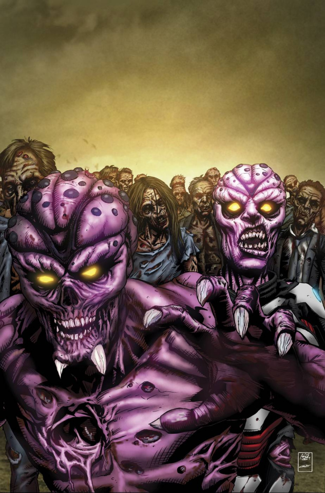 Aliens vs. Zombies #1 (Spay Cover)