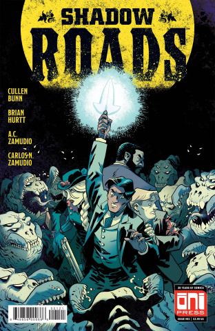 Shadow Roads #1 (Hurtt Cover)