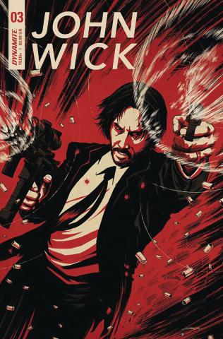John Wick #3 (Garriga Cover)