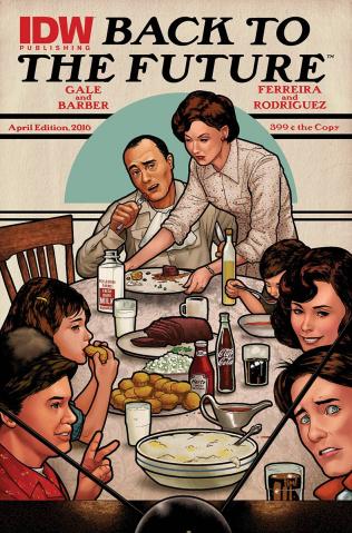 Back to the Future #7 (Art Appreciation Cover)