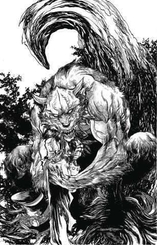 Van Helsing vs. The Werewolf #6 (Tolibao Cover)