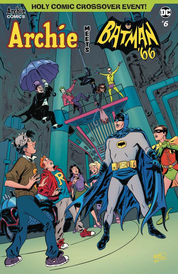 Archie Meets Batman '66 #6 (Procopio Cover)