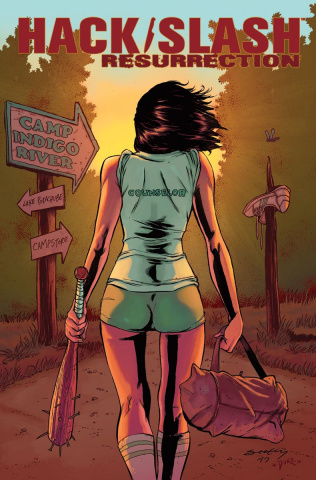 Hack/Slash: Resurrection #1 (Seeley Cover)