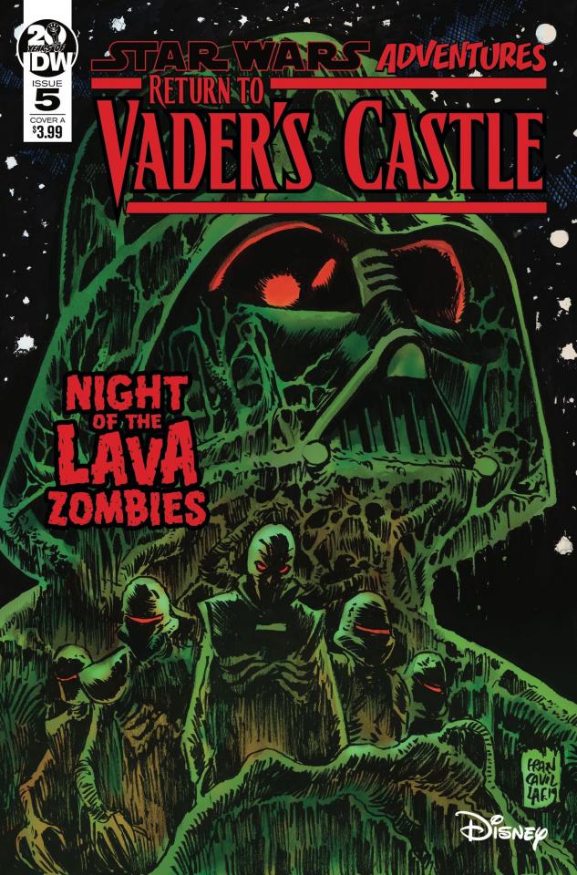 Star Wars Adventures: Return to Vader's Castle #5 (Francavilla Cover)