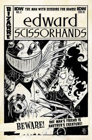 Edward Scissorhands #2 (10 Copy Cover)