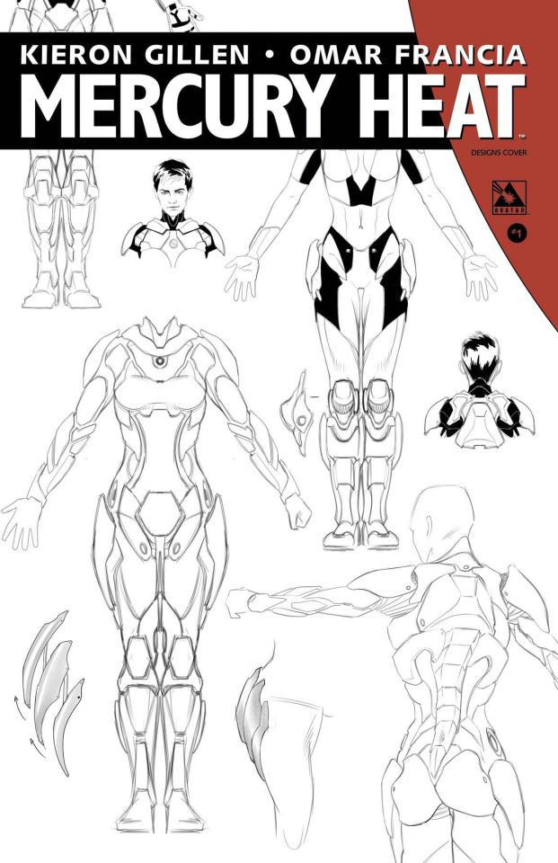 Mercury Heat #1 (Designs Cover)
