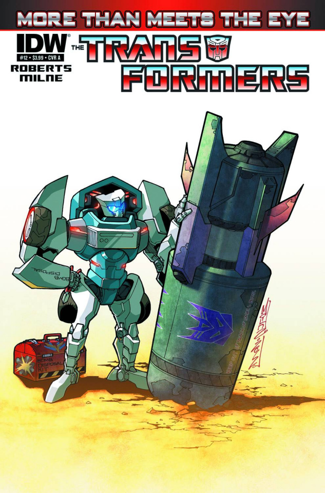 The Transformers: More Than Meets the Eye #12