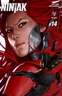 Ninjak #14 (Kevic-Djurdjevic Cover)