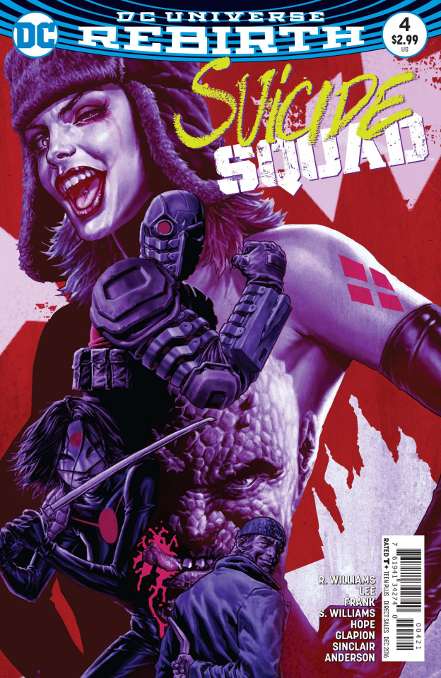 Suicide Squad #4 (Variant Cover)