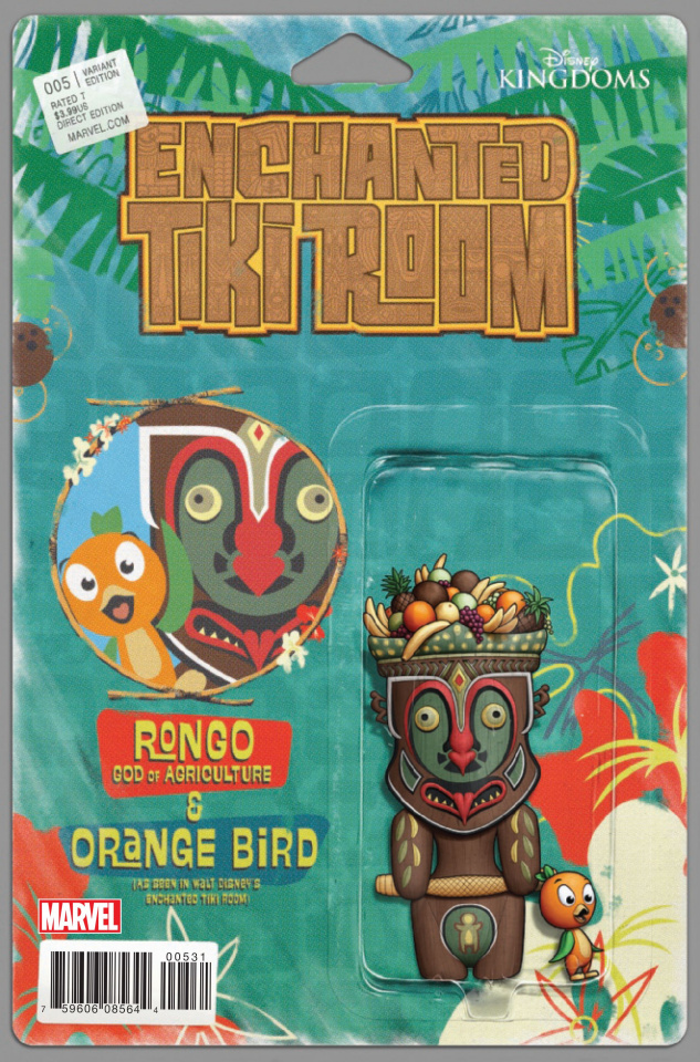 Enchanted Tiki Room #5 (Christopher Action Figure Cover)
