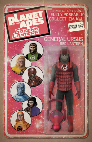 The Planet of the Apes / The Green Lantern #3 (Unlock Action Figure Cover)