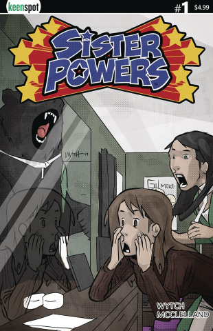 Sister Powers #1 (Mirror Images Cover)
