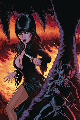 Elvira: Mistress of the Dark #8 (10 Copy Cermak Virgin Cover)